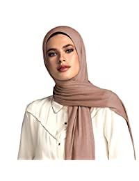 Voile Chic Dark Taupe Premium Jersey Hijab