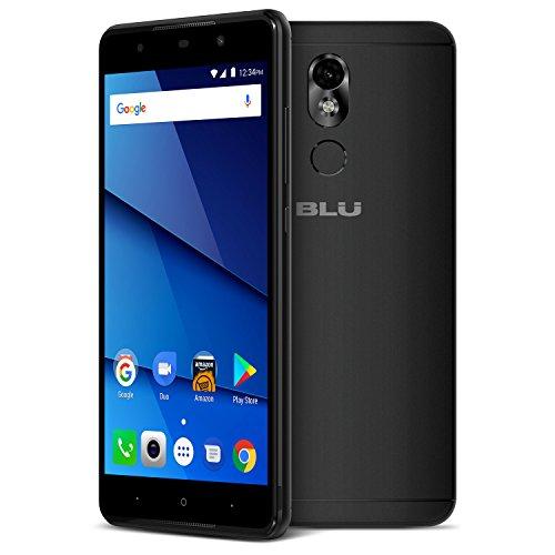 BLU Grand 5.5 HD II G210Q 16GB Unlocked GSM Dual-SIM Android Phone w/ 13MP Camera - Black (Telephone Blu Hd)
