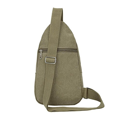Widewing Crossbody Men Winter Green Messenger Shoulder Army Sports Chest Bag Canvas Casual wpzqwxA