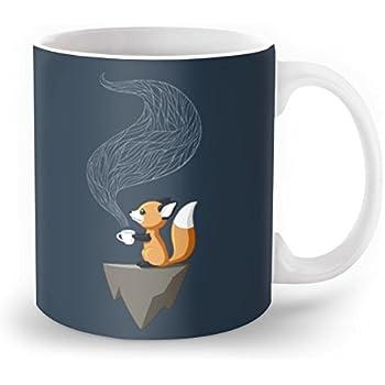 Society6 Fox Tea Mug 11 oz