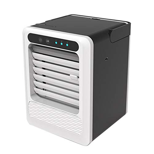 AckfulUSB Charging Portable Multifunction Air Conditioning Fan Home Refrigerator Cooler White