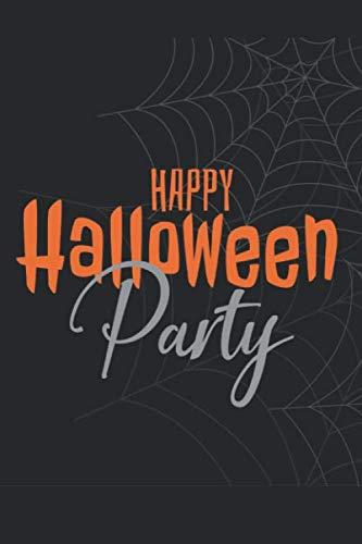 Happy Halloween Party: Cute Halloween Notebook Journal