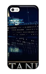 New Shockproof Protection Case Cover For Iphone 5/5s/ Titanic Ship Case Cover