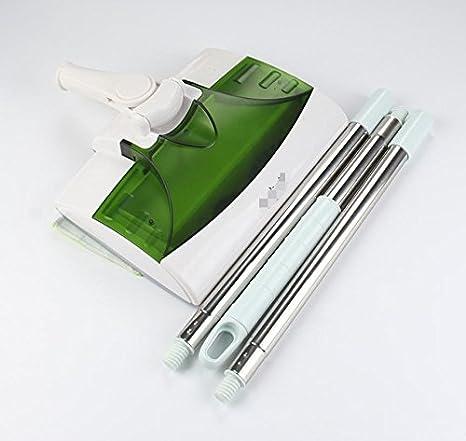 mopa de limpieza de vehículos de ocasión Push Wireless barredora aspiradora doméstica máquina eléctrica robot fregar barrer carga automáticamente: ...