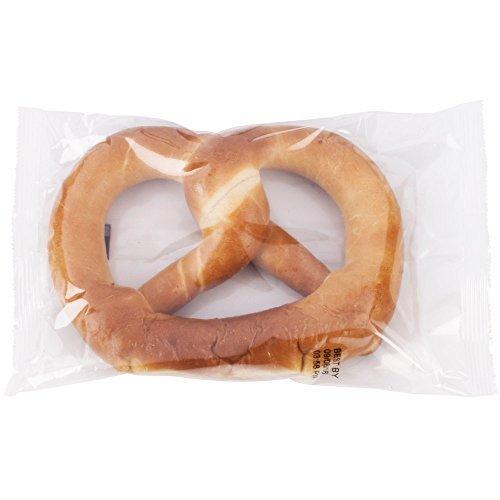 PretzelHaus Bakery Authentic Bavarian Plain Soft Pretzel, Pack of 25 by Pretzelhaus (Image #1)