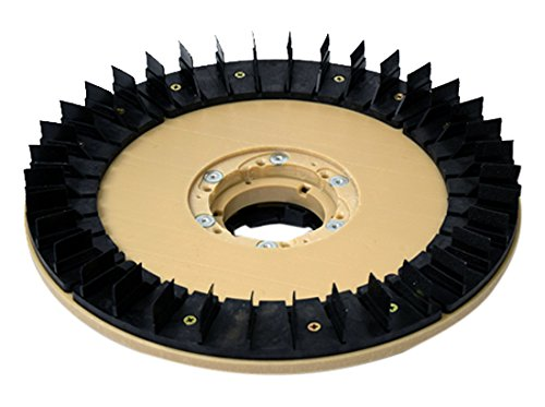Diamabrush By Malish 941901202 19-inch Concrete Prep Plus Tool, 25 Grit, Counter Clockwise with NP9200 Clutch Plate and 1.5-inch Riser by Diamabrush By Malish