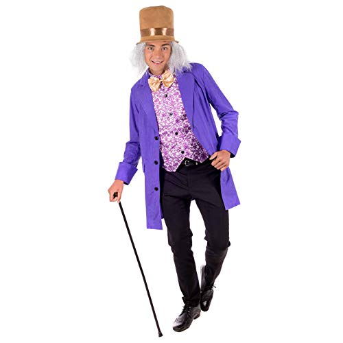 fun shack Mens Willy Wonka Suit, Medium]()