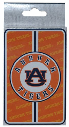 NCAA Auburn Tigers Bullseye Playing Cards