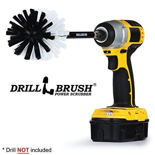 Cleaning Supples - Car Accessories - Drill Brush - Wheel Cleaner - Car, Truck, Motorcycle - Rims - Wheels - Car Wash - Interior - Carpet Cleaner - Leather - Bucket Seats - Upholstery Cleaner ()