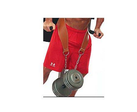 Ironcompany.com Schiek Leather Contour Dip Belt