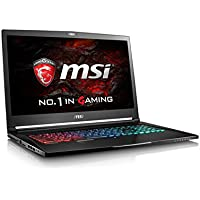 MSI VR Ready GS73VR Stealth Pro 4K-016 17.3 4K Display Slim and Light Gaming Laptop GTX 1060 i7-6700HQ 16GB 512GB M.2 SATA + 1TB Windows 10