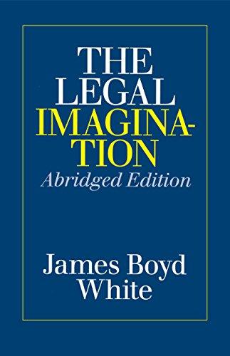 The Legal Imagination