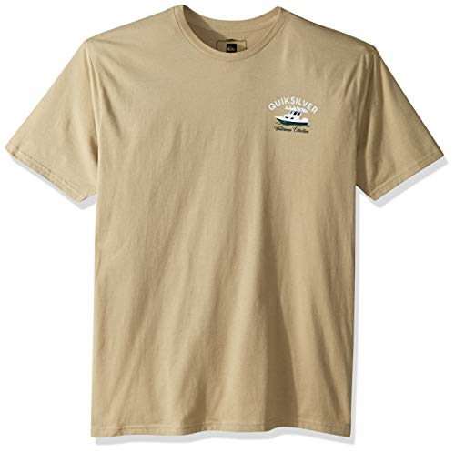 Quiksilver Men's Todos Charger TEE Shirt, Twill - Shirt Twill Sueded