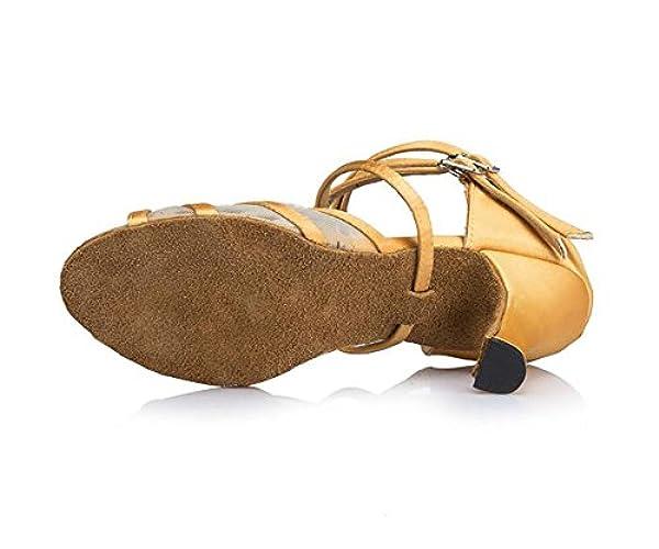pehmeän 9 2inch Qwertyuiop Pohjan Latinalainen Tanssisali Tanssi 3cm jalka Kengät naisten Tanssikengät Kengät 23 pituus Korkokengät np66YqZw