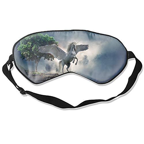 Myth Sleeping Eye Mask Sleep Blindfold Cotton Soft Cooling Eyeshade for Travel Home Office Rest ()