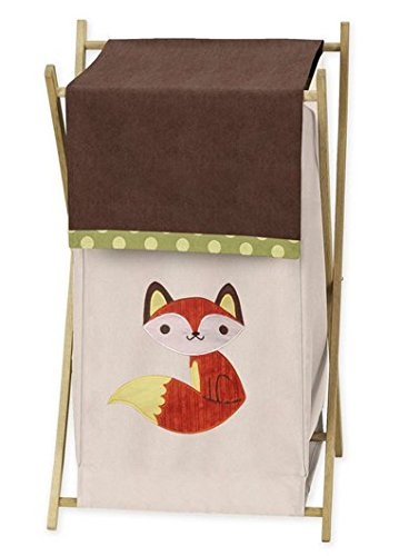 Sweet Jojo Designs Baby/Kids Clothes Laundry Hamper for for Forest Friends Animal Bedding by Sweet Jojo Designs