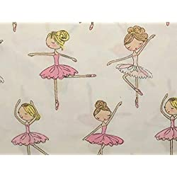 Bella Lux BALLERINA DANCERS Sheet Set - TWIN SIZE - ballerinas, dancing