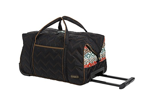 cinda b Carry-On Rolly, Ravinia Black, One Size by Cinda b.
