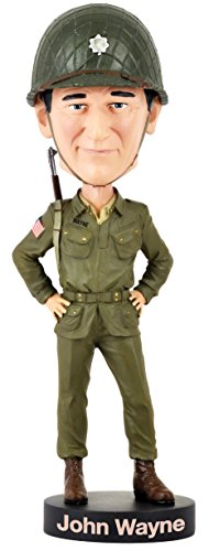 Royal Bobbles Wayne Military Bobblehead