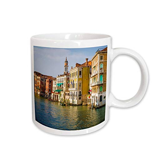 3dRose Danita Delimont - Venice - Evening light on the Grand Canal, Venice, Veneto, Italy - 11oz Mug (mug_313739_1) (Veneta Coffee)
