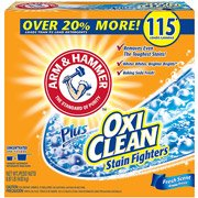Arm & Hammer Plus Oxiclean Stain Fighters Fresh Scent Powder