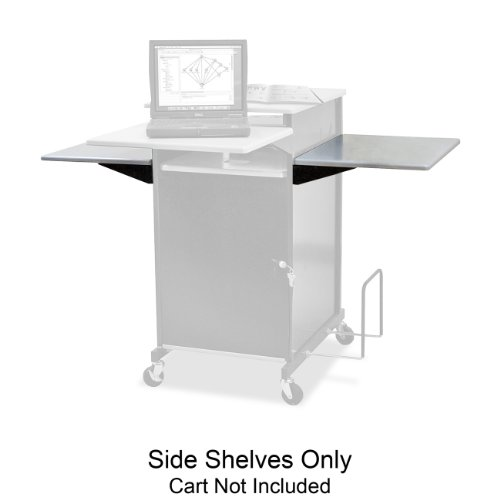 Balt Presentation Cart with Optional Shelf, 18-Inch by 18-Inch by 3/4-Inch, (Presentation Cart Optional Shelf)
