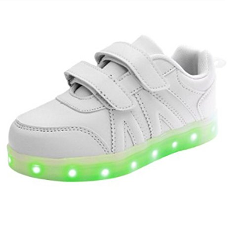 White Mode Pour t Koo Velcro Baskets Fille qwUXwPvE