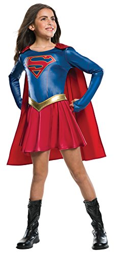UHC Dc Comic Supergirl Outfit Movie Theme Child Fancy Dress Halloween Costume