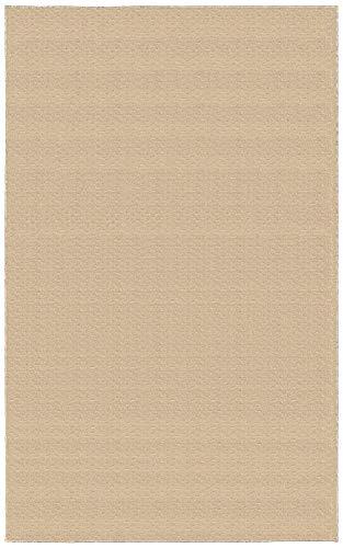 Garland Rug Medallion Area Rug, 7-Feet 6-Inch by 9-Feet 6-Inch, Tan (Garland Furniture Stores)