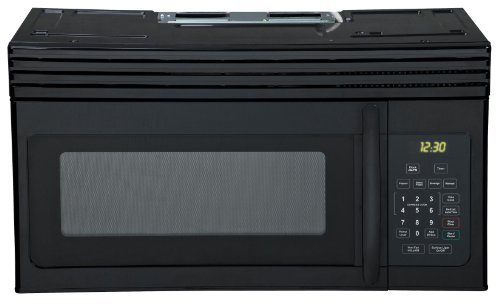 Haier HMV1630DBBB 30-inch Over-The-Range 1000 Watt Microwave, Black