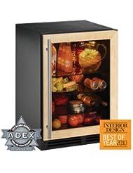 2000 Series 5.4 Cu. Ft. Single Door Refrigerator Door Panel: Wood Overlay