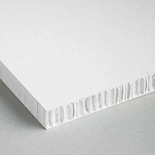 Honeycomb Cardboard | White | Honeycomb (Price Includes 10 panels)