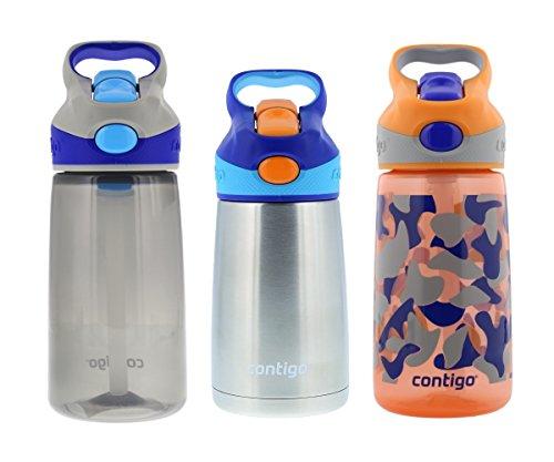 Contigo Kids Autospout Striker & Chill Water Bottle Set - On