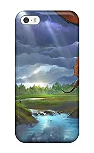 Hot 8067033K97621084 Slim Fit Tpu Protector Shock Absorbent Bumper Dragon Case For Iphone 5/5s