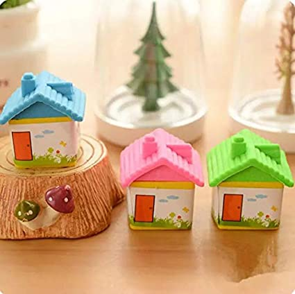 imported stuff cutest new arrival hut shape erasers bday return gift party idea