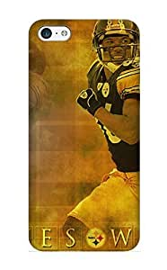 Honeyhoney Durable Defender Case For Iphone 5c Tpu Cover(pittsburgh Steelers) Best Gift Choice