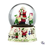 Lenox Holiday Musical Snowglobe Centerpiece