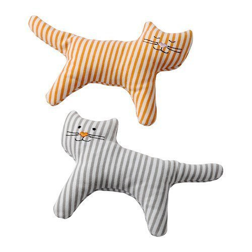 Leka Rattle, Cat / 2 Pack - Ikea