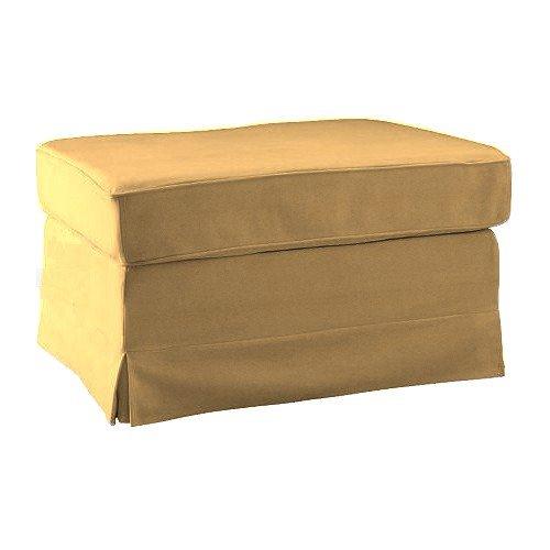 Pimp your Couch Ektorp Hocker Bezug - Stoff Wildstoff [Kamel]