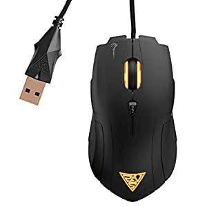 GAMDIAS Demeter GMS5000 Optical FPS Gaming Mouse 5 Programmable Buttons, 2000 DPI
