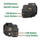 Infilight Green Flashlight Laser Sight, Compact