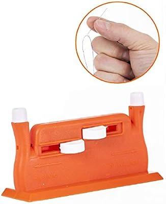 Annote Enhebrador de Agujas Automático - Enebradoras Hilo para Máquina de Coser - Agujas de Coser a Mano Incluidas - Enhebrador Automático Kit de Costura Profesional - Color Verde: Amazon.es: Hogar