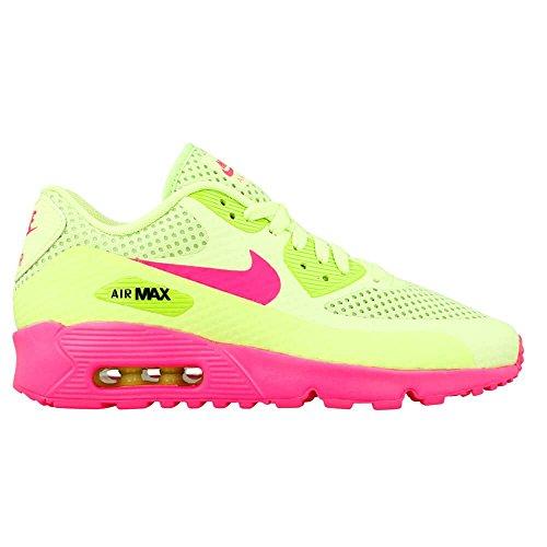 size 40 b5aea c4f3e Nike Mädchen Air Max 90 BR GS Fitnessschuhe, Gelb, EU Grün ...