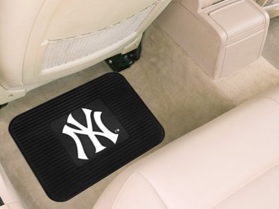 New York Yankees Heavy Duty Vinyl Rear Seat Car Utility Mat Hall of Fame Memorabilia