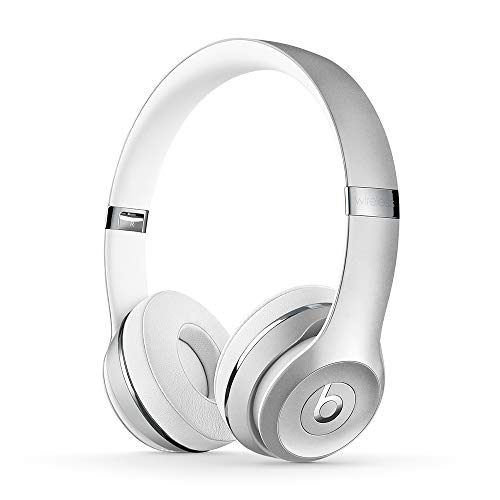 Beats Solo3 Wireless On-Ear Headphones - Apple W1 Headphone Chip, Class 1 Bluetooth, 40 Hours Of Listening Time - Silver (Previous Model)