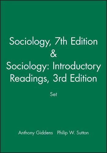 Sociology, 7th Edition / Sociology: Introductory Readings, 3rd Edition bundle