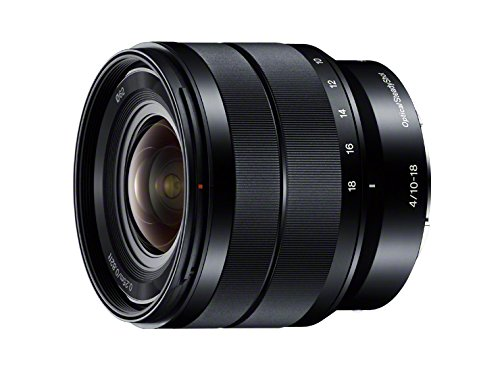Sony E 10-18mm F4 OSS Lens Sel1018 for E Mount – International Version (No Warranty)