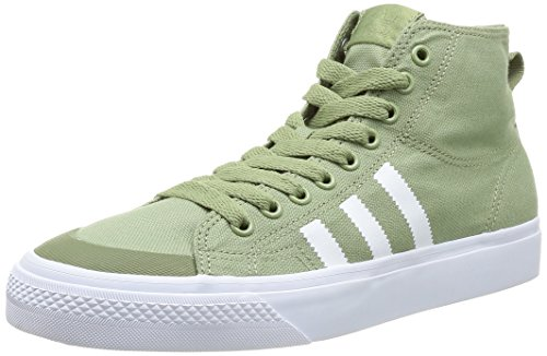 adidas Nizza Hi Classic 78 Sttegr/Runwh - Zapatillas para hombre ST Tent Green S14 / Running White FTW