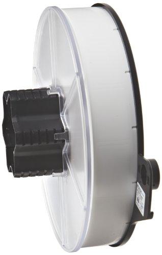 "Brady WRAP-8-499 1"" Width x 1.5"" Height, B-499 Nylon Cloth, Matte Finish White Wraptor Label (2800 per Roll)"