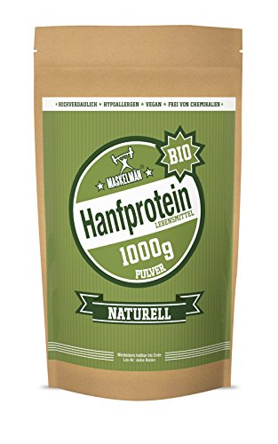 Maskelmän Hanfprotein - Bio - 1000g